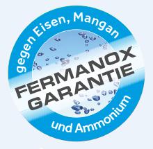 fermanox garantiert eisen mangan und ammoniumfreies. Black Bedroom Furniture Sets. Home Design Ideas